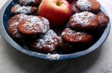 Almás korongok - gluténmentes süti Tünditől