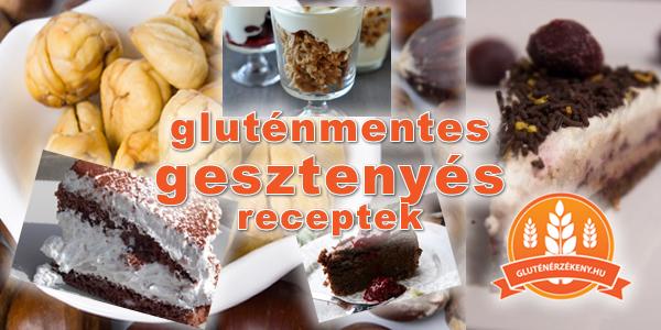 gluténmentes gesztenyés receptek