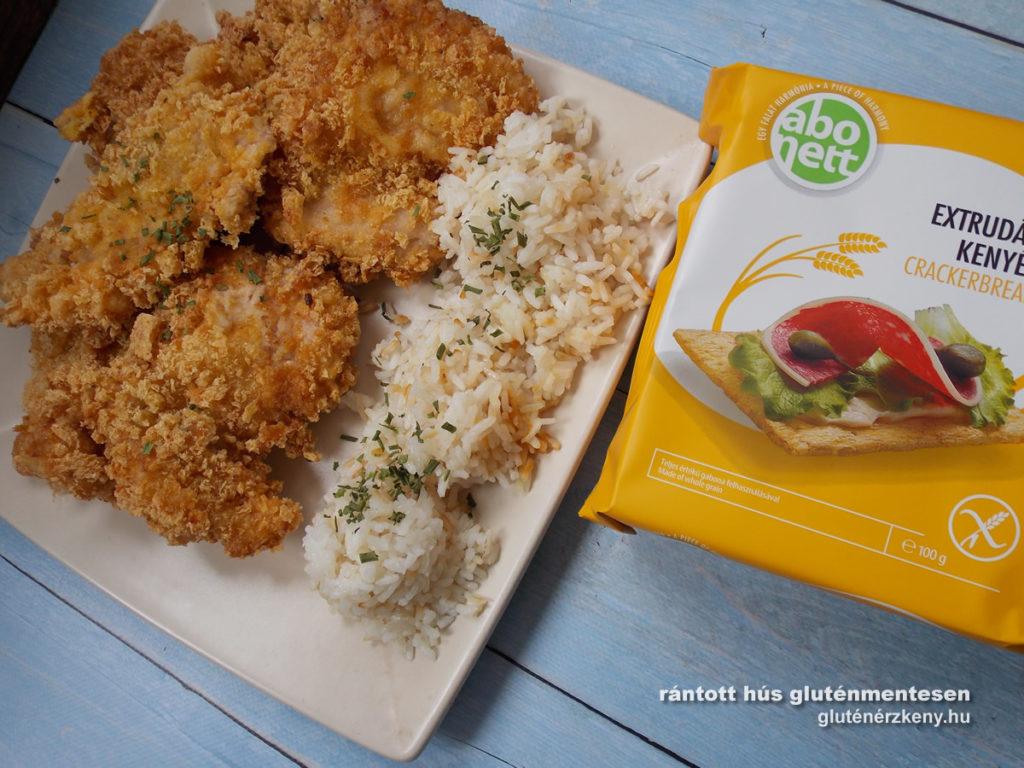 gluténmentes rántotthús recept