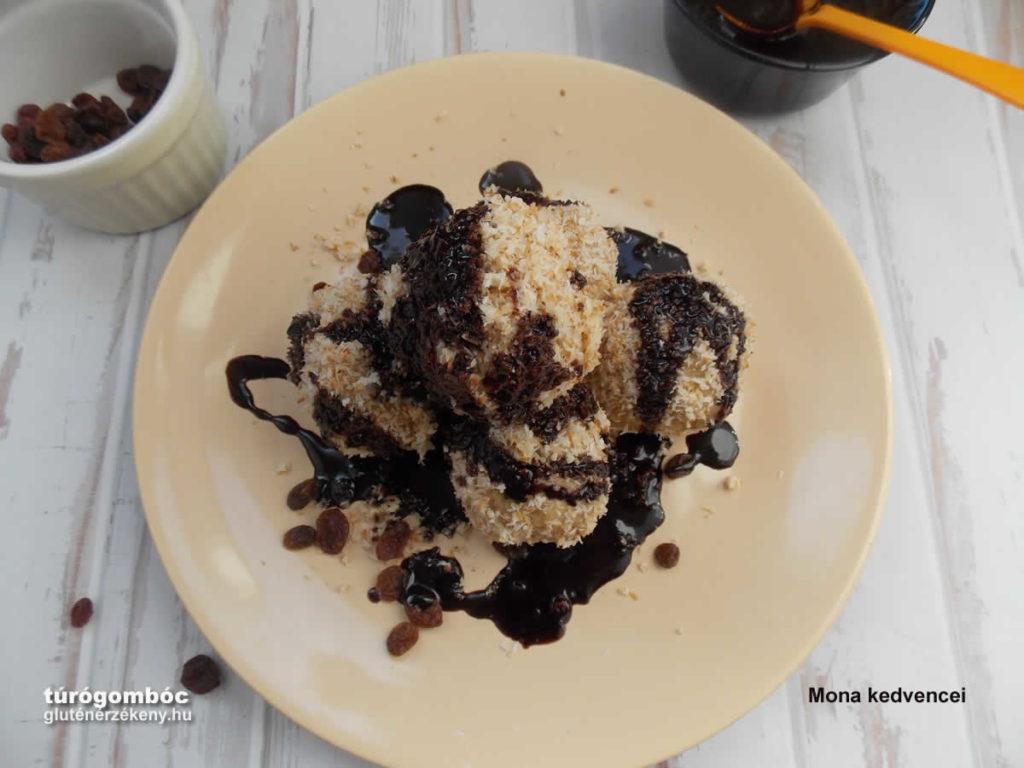 gluténmentes túrógombóc recept - Mona kedvence