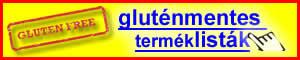 gluténmentes terméklisták