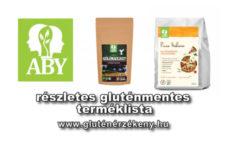ABY / Omegabázis gluténmentes terméklista - 2017.03.06