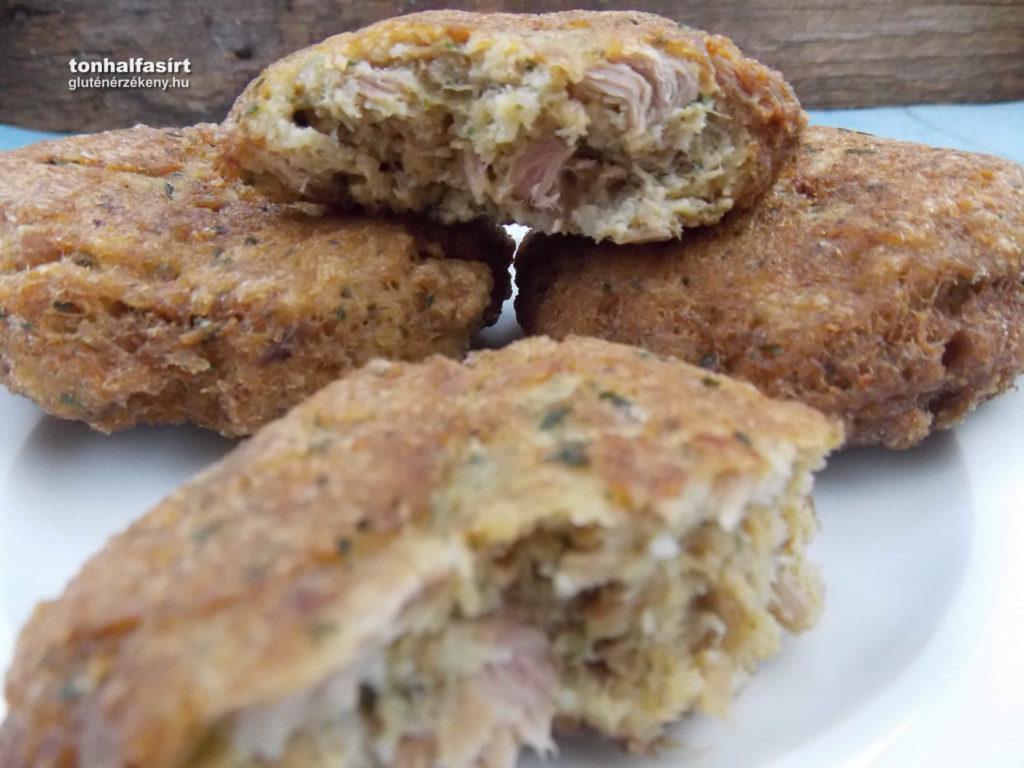 gluténmentes tonhalfasírt recept, Dardanel tonhal konzervekkel