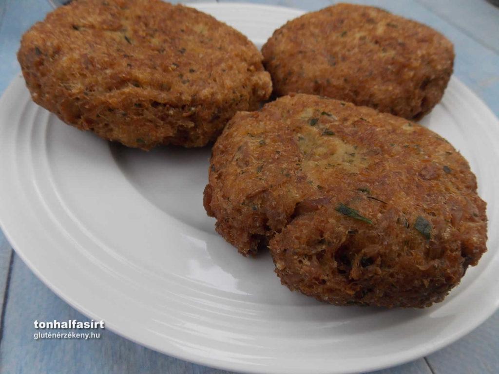 gluténmentes tonhalfasírt recept