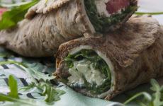 Teljes kiőrlésű, gluténmentes tortillatekercs - kalciumban és rostban gazdag