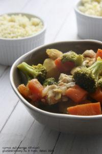 Currys pulykaragu gluténmentes főétel recept