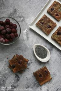 Mákos túrókocka gluténmentes sütemény recept