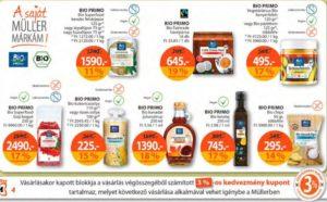 gluténmentes élelmiszerek Müller drégéria akció