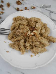 diós nudli gluténmentesen - recept