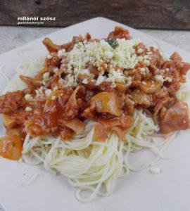 gluténmentes milánói makaróni recept