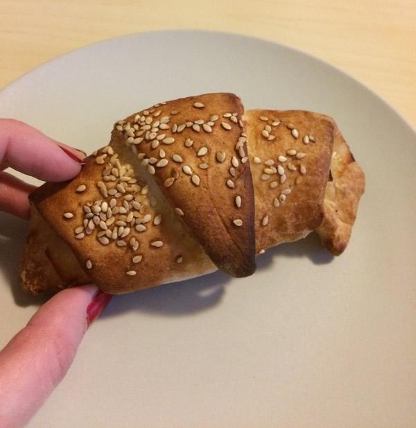 gluténmentes péksütemény croissant