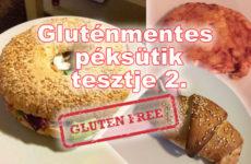 Gluténmentes péksütemények tesztje 2.