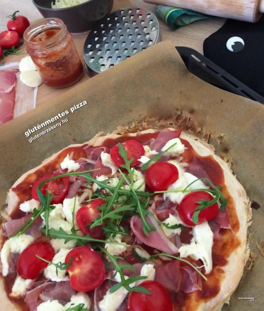 gluténmentes pizza recept aby liszttel