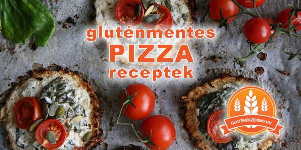 gluténmentes pizza receptek