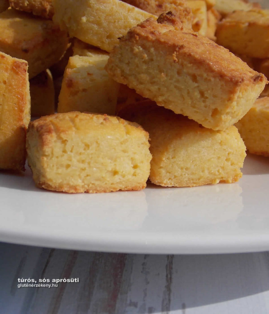 gluténmentes recept túrós sós aprósüteméány