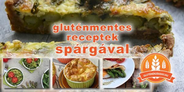 gluténmentes receptek spárgával
