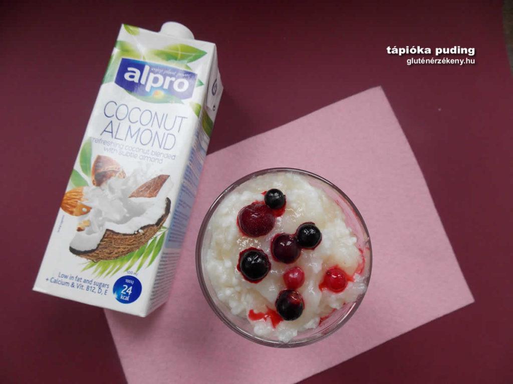 gluténmentes tápióka puding recept