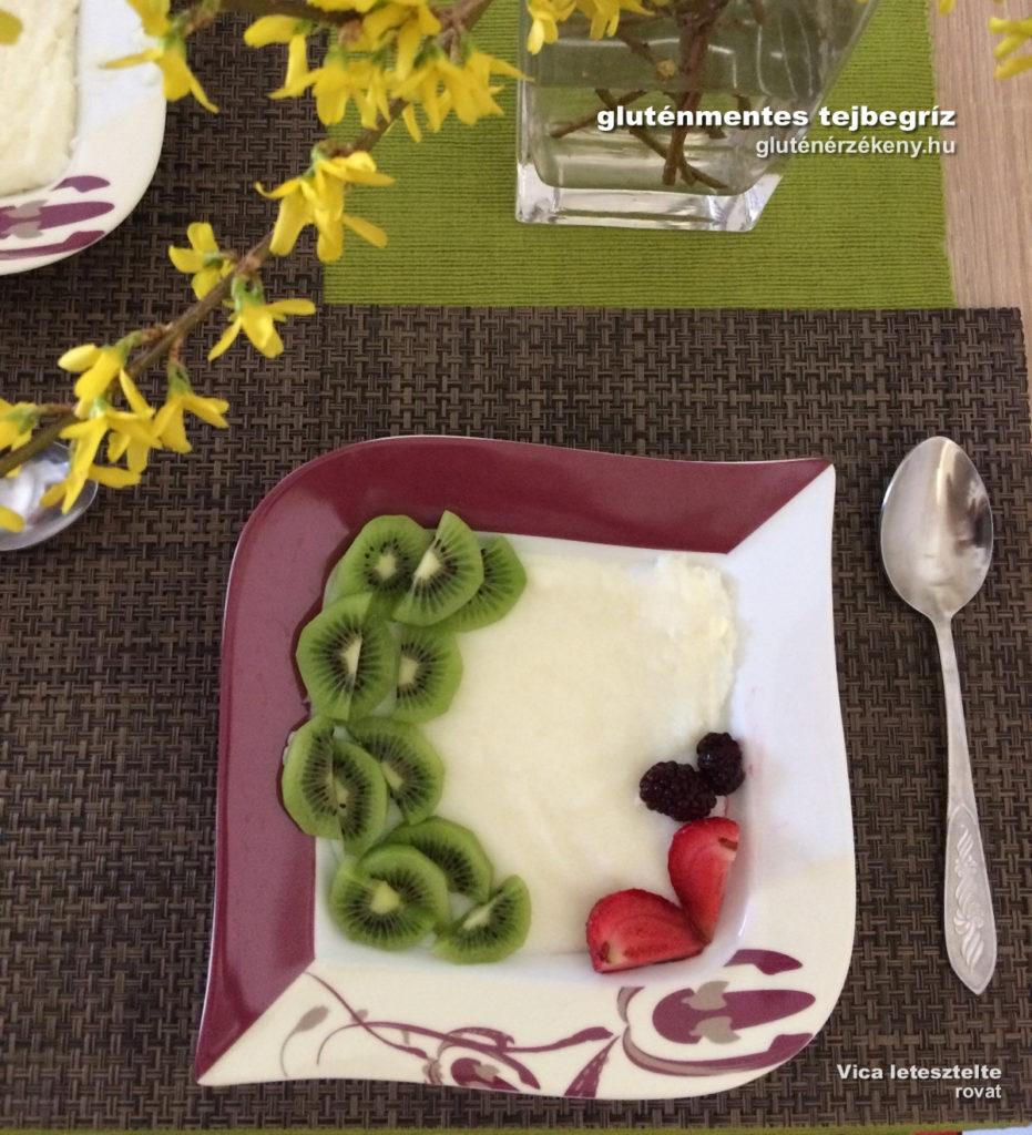 gluténmentes tejbegríz recept