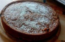 Kakaós kevert gluténmentes sütemény kukoricaliszttel Tünditől