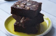 Sütőtökös gluténmentes brownie