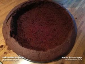 vakondtúrás torta gluténmentes sütemény recept 2