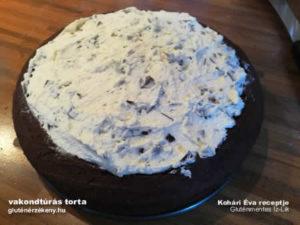 vakondtúrás torta gluténmentes sütemény recept