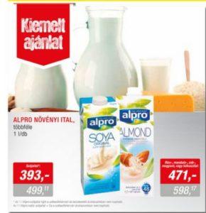 Metro-Élelmiszer-05.03-05.16-Alpro gluténmentes italok, növényi tej