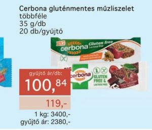 gluténmentes CERBONA