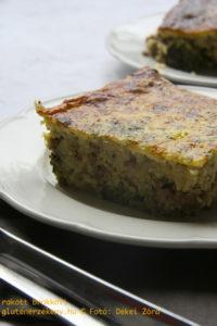 Rakott brokkoli gluténmentes egytálétel recept