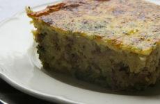 Rakott brokkoli – kölessel, pulykahússal