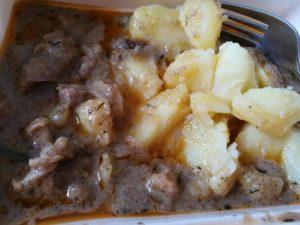 Tokány 2 gluténmentes menü rendelés a Szederinda étteremből