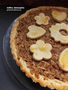 gluténmentes almáspite teffes | gluténmentes sütemény receptek