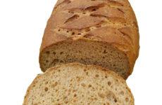 Rostban gazdag barna gluténmentes kenyér - kézzel formázva