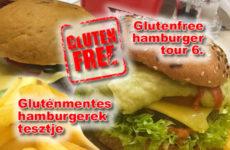 Gluténmentes hamburgerek tesztje - 6. Glutenfree hamburger tour