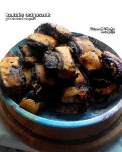 gluténmentes kakaós csiga recept tünditől
