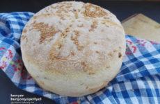 Burgonyapelyhes gluténmentes kenyér lenmagos szórással