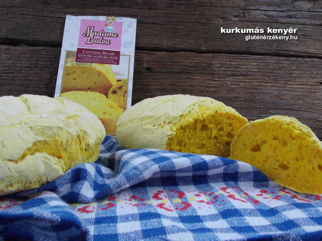 kurkumás gluténmentes kenyér recept | gluténmentes kenyerek