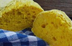 Kurkumás gluténmentes kenyér