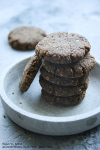mogyorós gluténmentes keksz recept