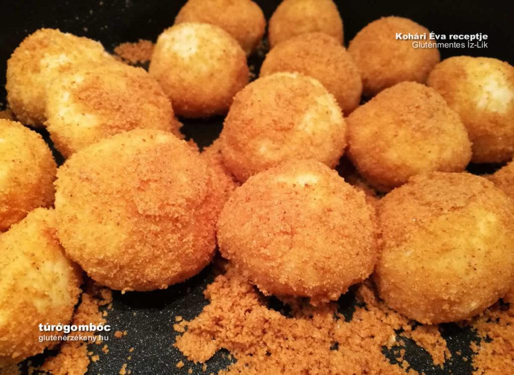 olcsó gluténmentes túrógombóc recept