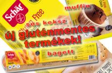 Új gluténmentes termékek a Schär-től!