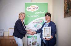 Cerbona csokis-meggyes gluténmentes müzliszelete nyerte az Év Új Gluténmentes Terméke díjat