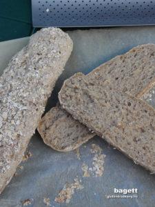 gluténmentes bagett recept | gluténmentes péksütemények