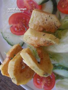 gluténmentes köret recept spirál krumpli