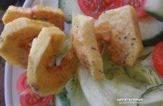 Spirál krumpli - izgalmas gluténmentes köret