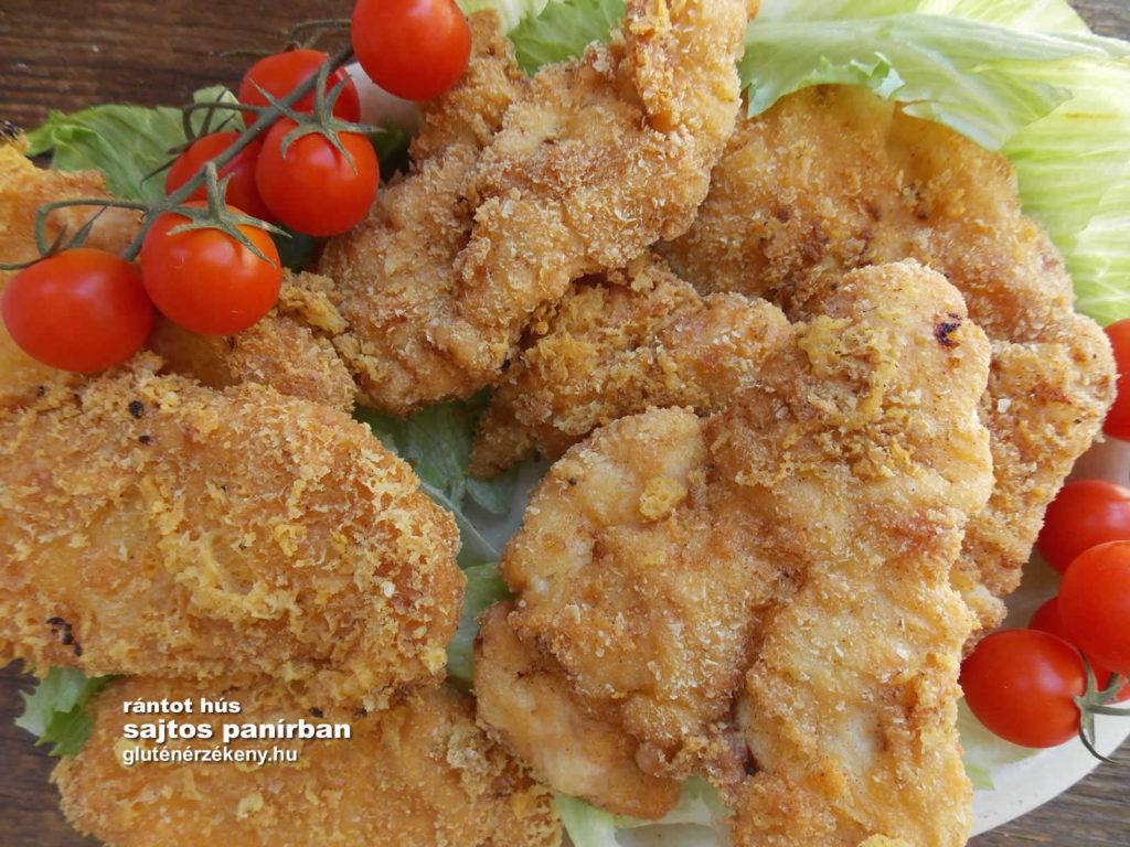 gluténmentes rántott hús recept | gluténmentes panírozás