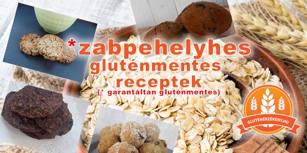 gluténmentes zabpehely