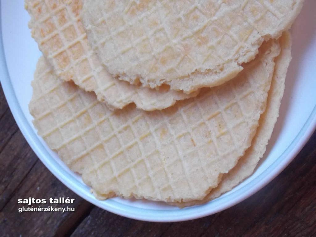 gluténmentes sajtos tallér recept, | gluténmentes receptek tápérték számítással