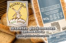 Piszkei Öko Kft. gluténmentes terméklista - 2017.06.07.
