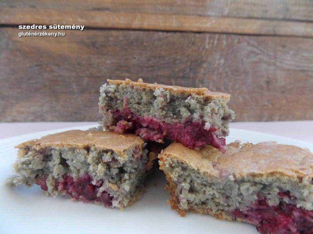 szedres gluténmentes sütemény recept   gluténmentes receptek